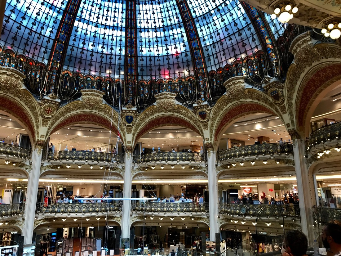 coupole galeries lafayette