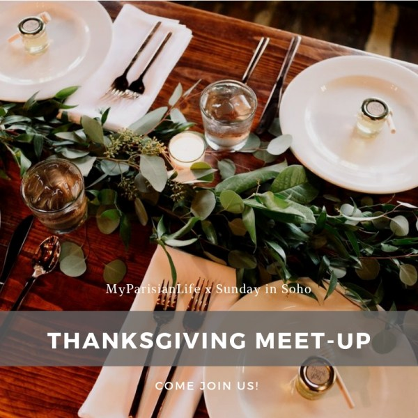 Thanksgiving in paris