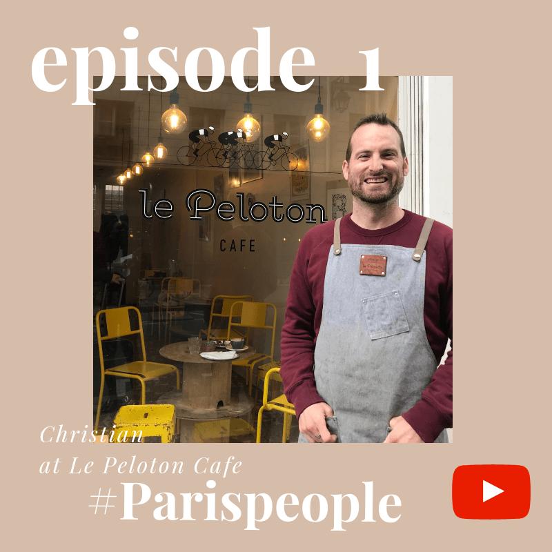 Paris People interview Christian Le peloton youtube