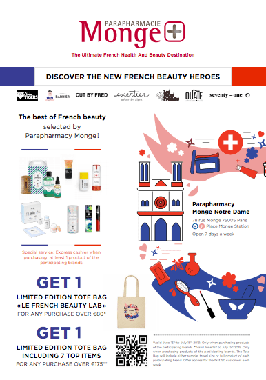 Stock up! discount french beauty products