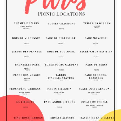print paris picnic map