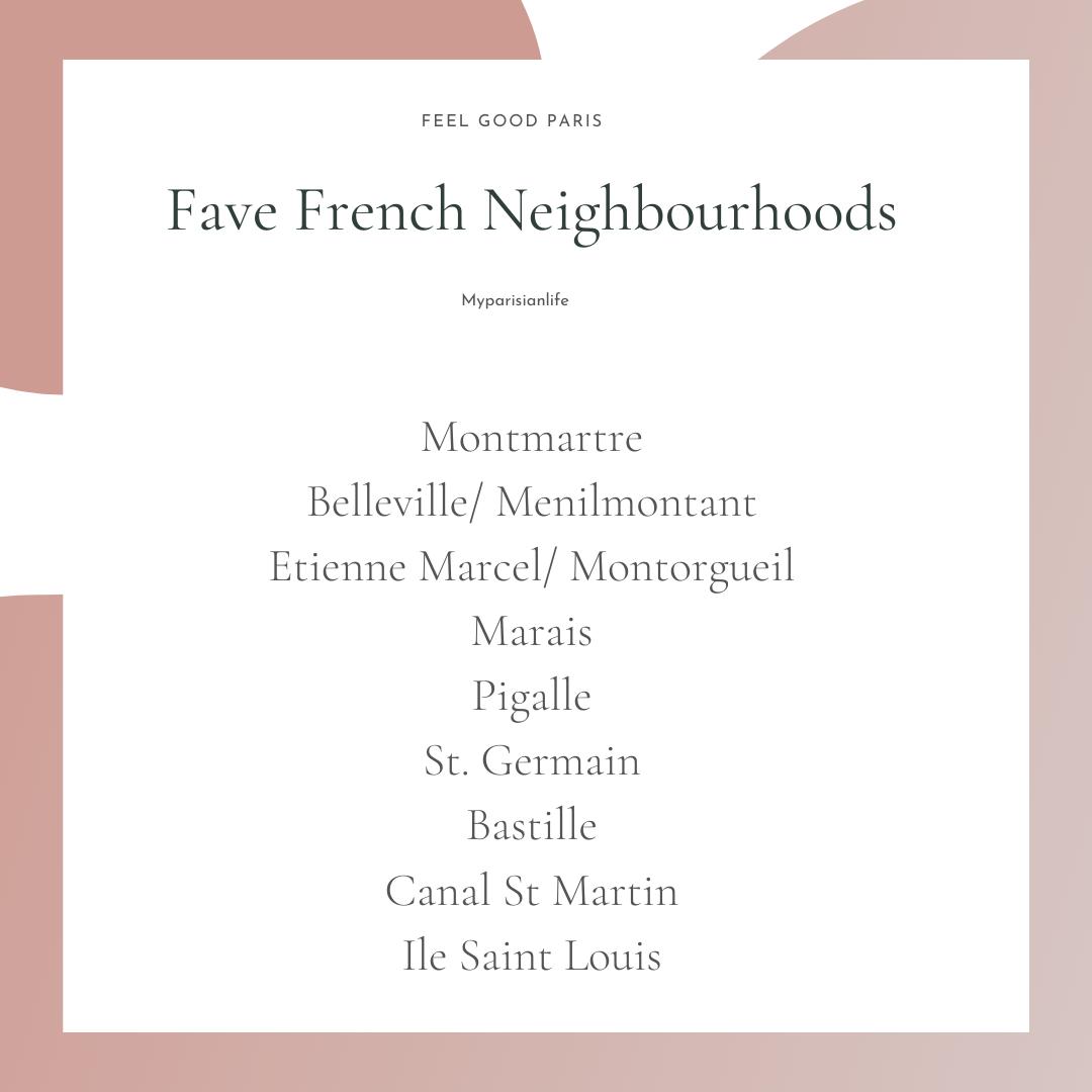 best paris neighbourhoods