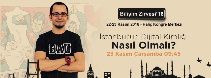 İstanbul'un Dijital Kimliği Nasıl Olmalı ?