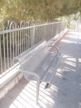 Jerusalem bench