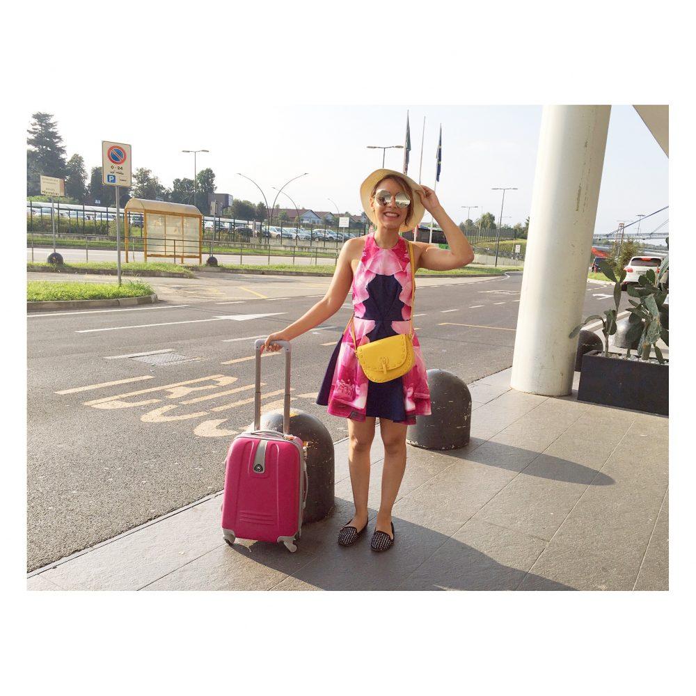 À l'aéroport de Malpensa