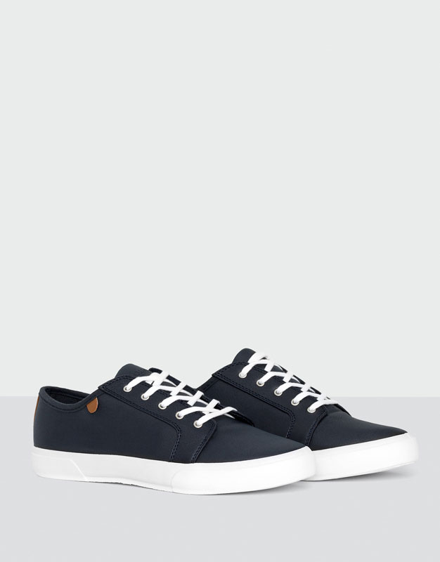 Tennis bleues basic Pull and bear