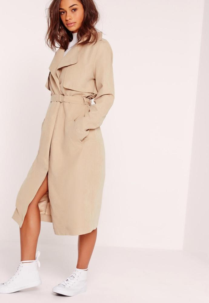 Trench nude missguided