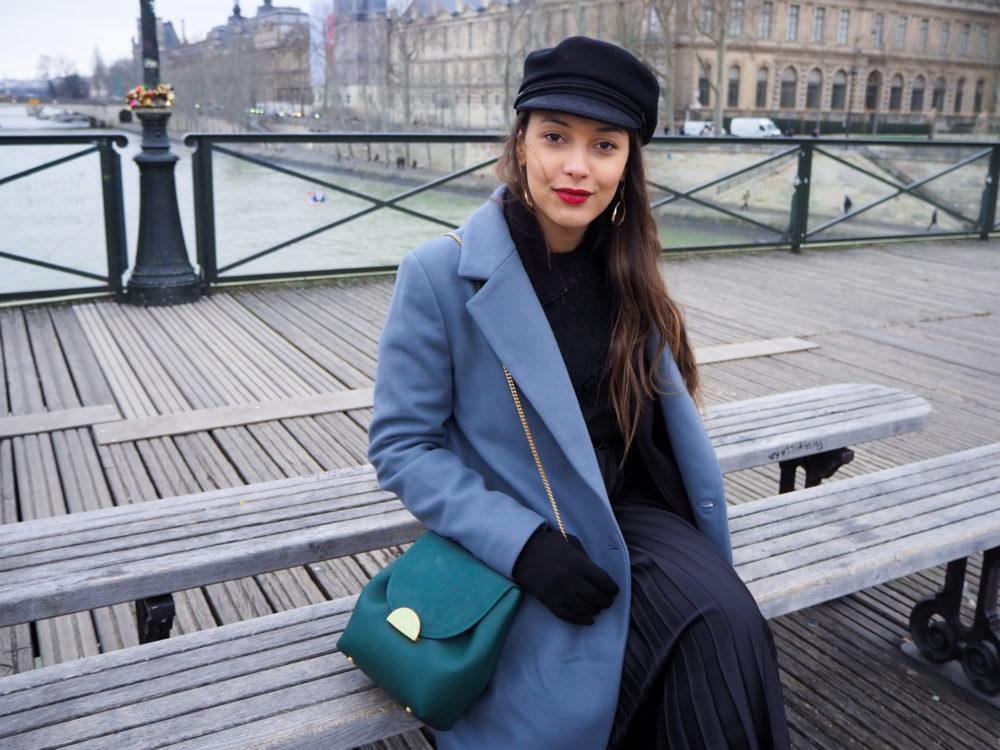 look-manteau-bleu-gris-masculin-hiver-2020-paris
