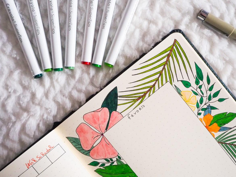 bujo-mise-en-couleurs-crayola