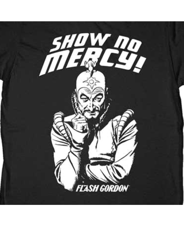 Show No Mercy Flash Gordon T-Shirt