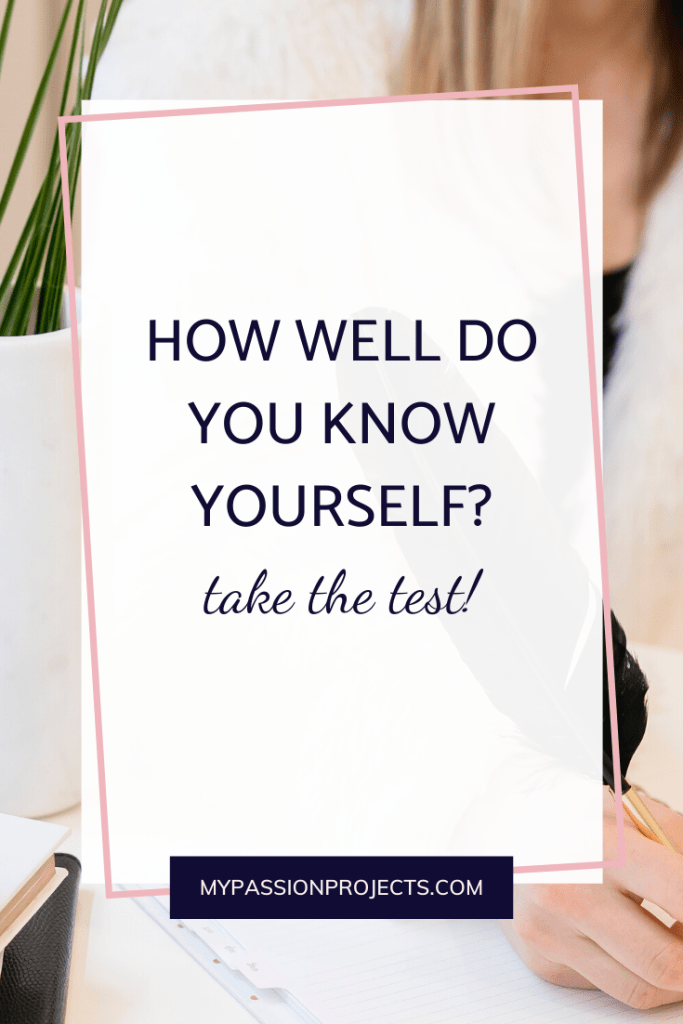 How Well Do You Know Yourself? Take The Personality Test!