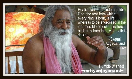 Realization of the indestructible God....!!!