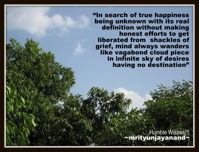 In search of true happiness..!!!