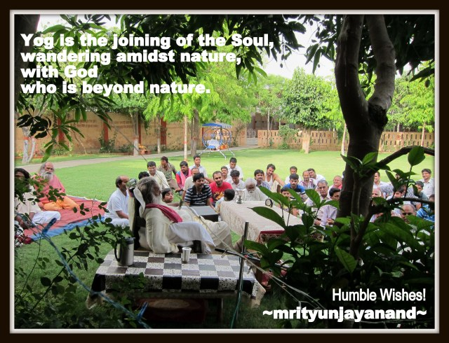 Yog is the joining of the Soul...!!!