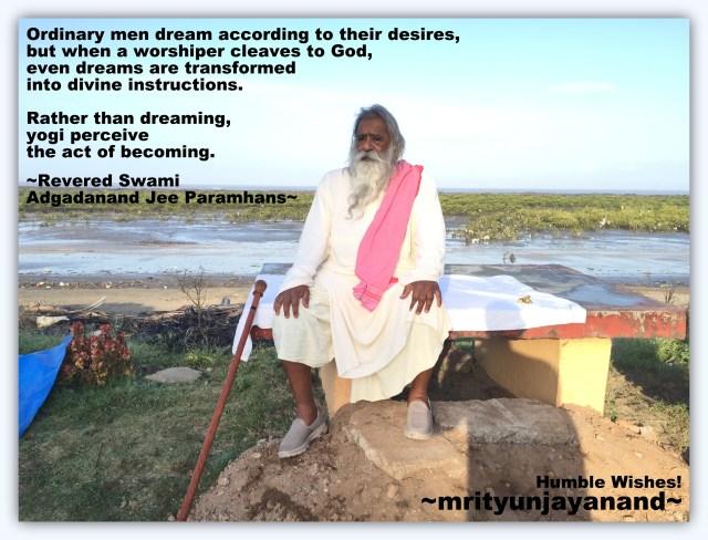 Yogi perceive the act of becoming...!!!