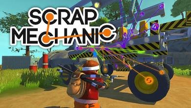 Scrap Mechanic PC Game Free Download full version