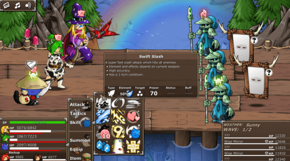 Epic Battle Fantasy 5 PC Game Free Download