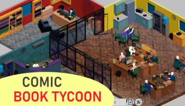 Comic Book Tycoon Free Download PC Game Full Version