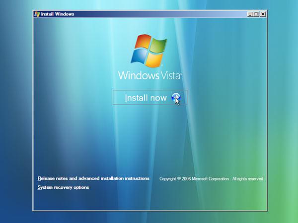 Windows Vista - Screenshot 1
