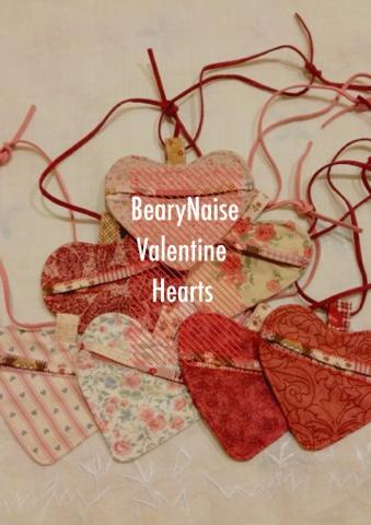 Bearynaise Handmade Valentine Hearts
