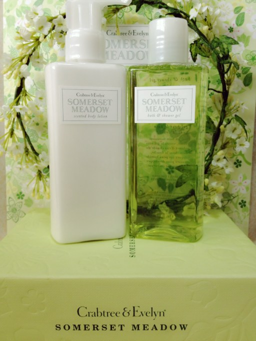 crabtree and evelyn somerset meadow body lotion and shower gel
