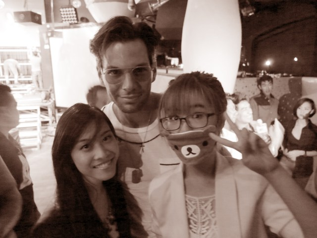 Zoe and Joey with Bobby Tonelli at Zouk