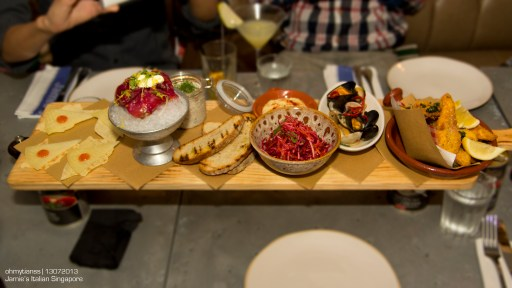 [Food] Jamie's Italian Singapore Fish Plank