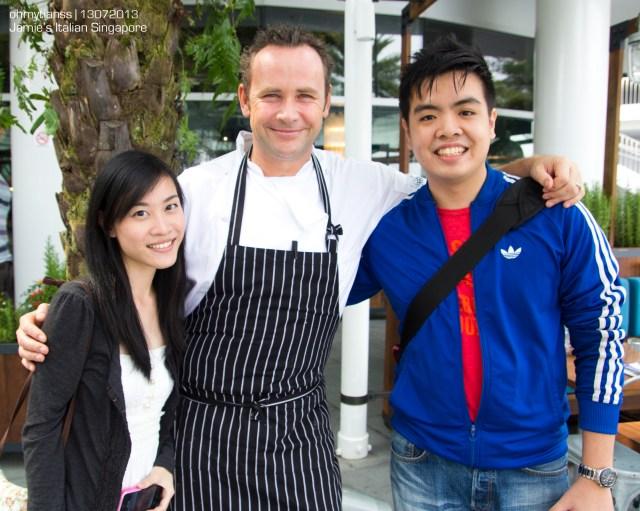 [Food] Jamie's Italian Singapore Head Chef Gary Clarke