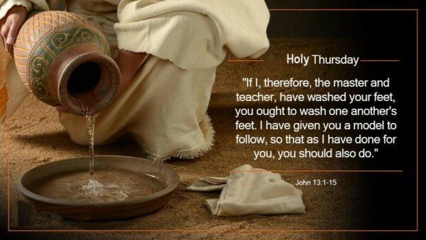 #TBT – Throw Back Thursday — Holy Thursday