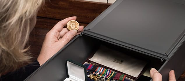 My Safety Deposit Box is Secure