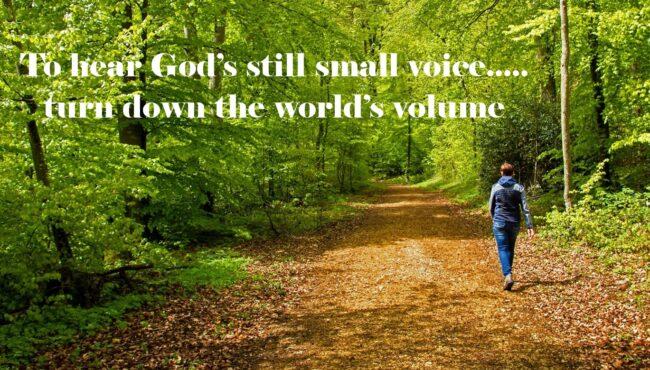Listening to God's Still Small Voice