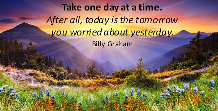 Taking One Day at a Time