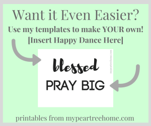 blessed Sign Printable