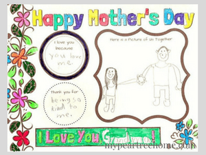Mother's Day printable, Mother's Day, Mother's Day card