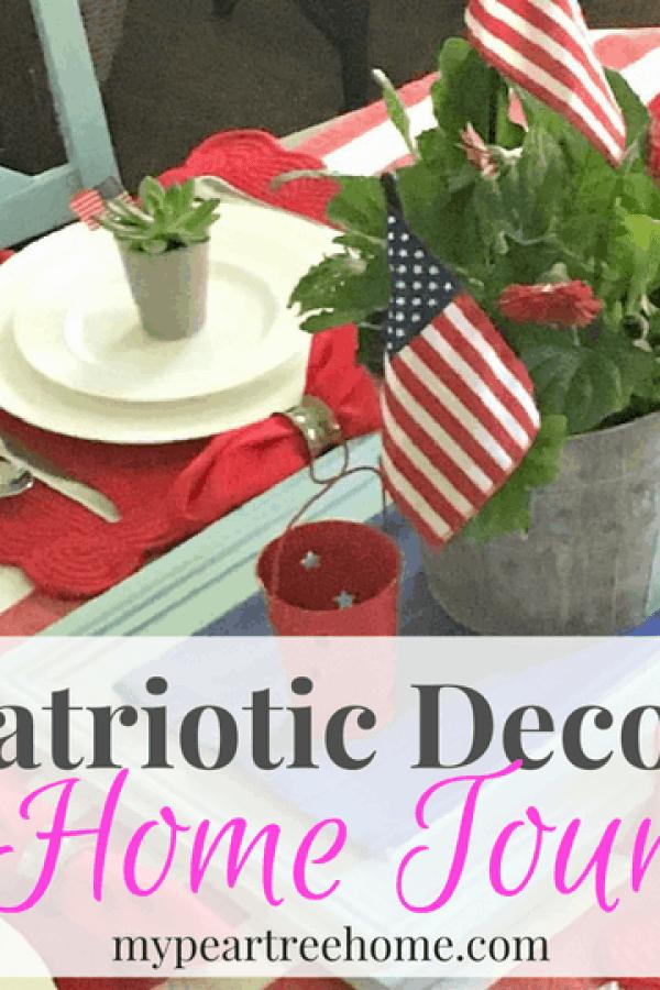 Patriotic Summer Decor