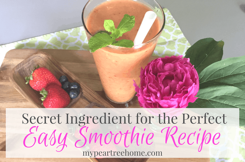 Totally the BEST smoothie recipe. My kids LOVE this treat!