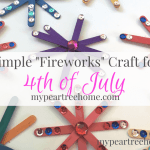 Simple 4th Of July Fireworks Craft