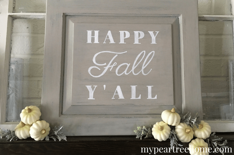 Love those signs you see at Hobby Lobby & Home Goods? Now you can make your own! This method is SO easy! Click to see the no-fail tutorial!