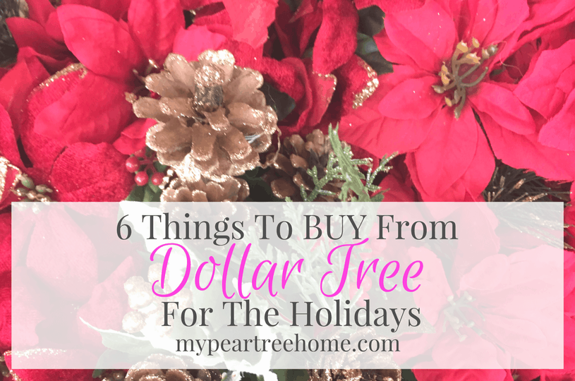 Save Money This Christmas at Dollar Tree | My Pear Tree Home