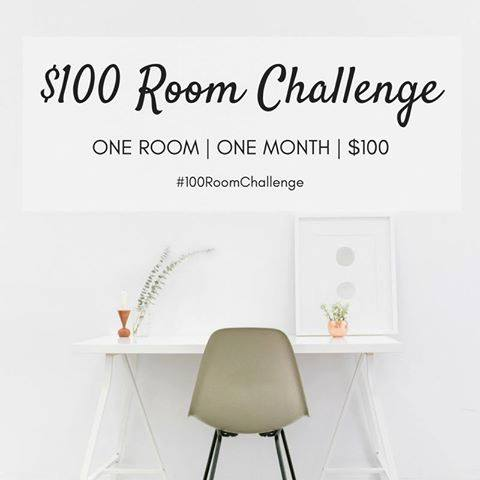 Want to revamp your home, but don't have a lot of money to do it? Get some amazing ideas from some talented home bloggers! They will give you some inspiration to transform an entire room for only $100! Click to the post to check it out!