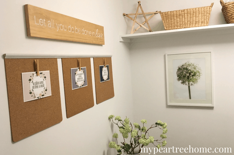 "Love the show ""Fixer Upper"" and want to add some of the show's signature looks in your own home? This DIY sign tutorial is the perfect way to add them! This inexpensive wall art is sure to impress. Click the post for all the details!"