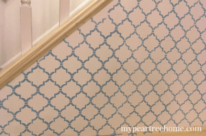 """Wall stencils are quite on-trend at the moment and give you a lot of """"bang for your buck"""". Curious about the process and want to get started? Click to the post for tips for success!"""