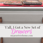 Sometimes, You Just Need New Drawers