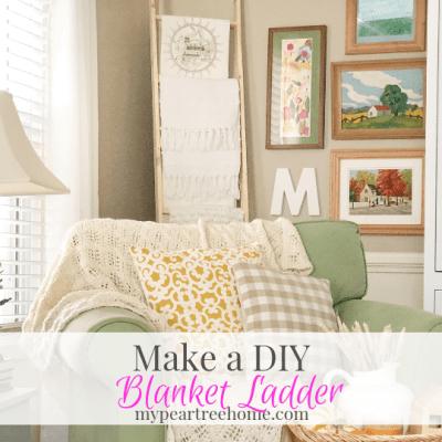 Blanket Ladder Tutorial