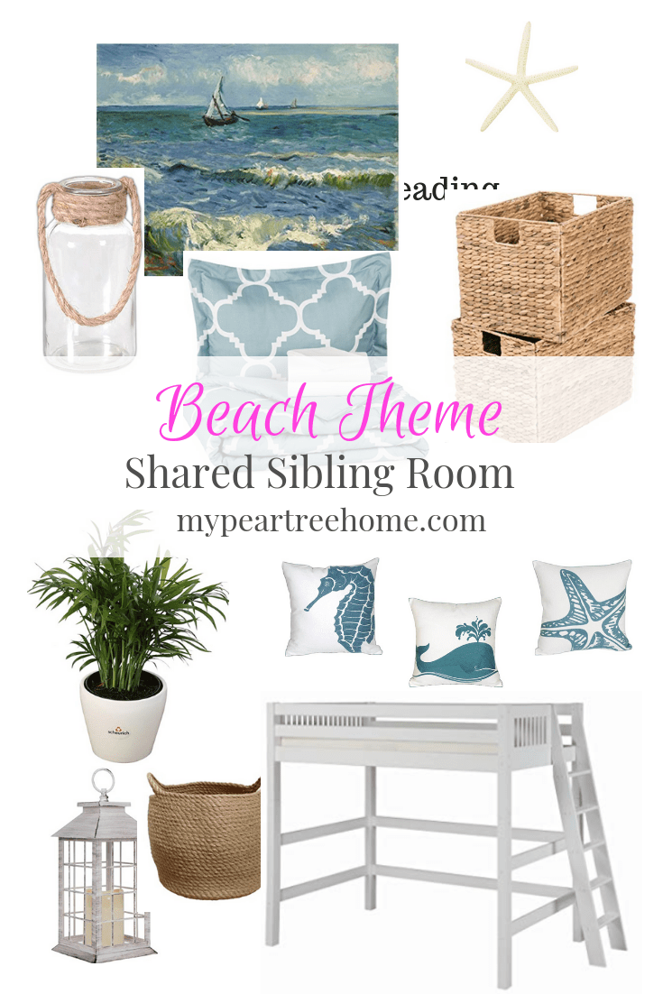 Plans for a beach theme kid room