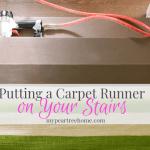 Carpet Runner on Stairs