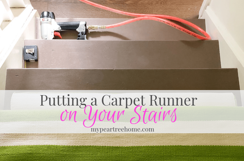 article on carpet runner on stairs