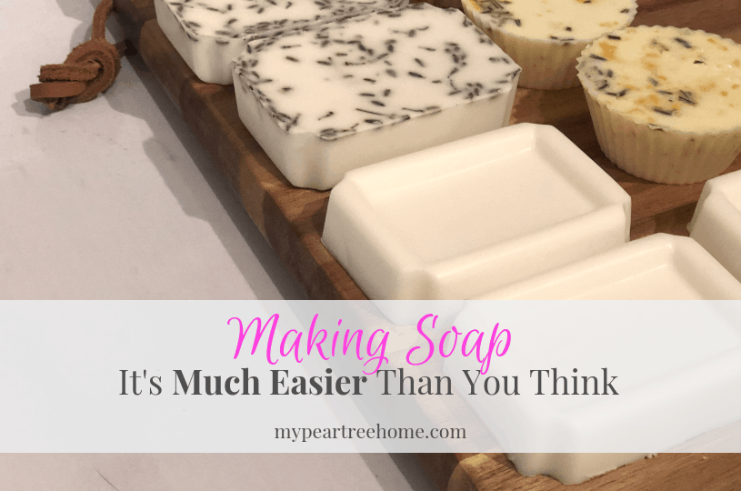 easiest way to make soap