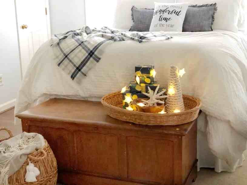 Add some coastal charm to your home this Christmas with these budget-friendly tips.