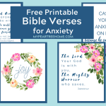 Feeling Anxious? Printable Bible Verse to Add to Your Home Decor